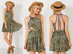 Grassy Knoll Dress *