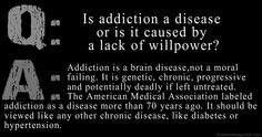 Is addiction a disease or is it caused by a lack of willpower? It is an official…