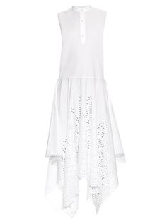 Stella McCartney Marion broderie-anglaise cotton dress