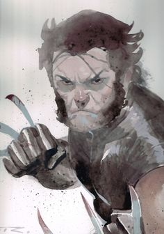 Esad Ribic - Wolverine Comic Art
