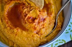 Sweet potatoe hummus!