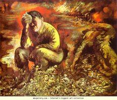 George Grosz. Cain, or, Hitler in Hell. Olga's Gallery.