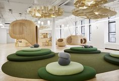 WeGrow school in New York City: New Educational Facility Interior USA by BIG: NYC education building, Manhattan architecture, interior design images Strate Design, Bjarke Ingels Architecture, Learning Spaces, Learning Stations, Learning Environments, Commercial Interiors, Kid Spaces, Office Interiors, Modern Interiors