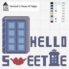Hello Sweetie Doctor Who chart