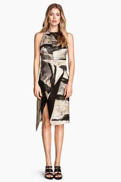 Sukienka z domieszką jedwabiu   H&M