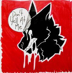"""bloominghead-art: """" flowerhead-art: """"My Ears Hurt My Eyes Burn """" inspired by """" Dark Drawings, Cool Drawings, Wolf Quotes, Dark Quotes, Plus Belle La Vie, Vent Art, She Wolf, Sad Art, My Demons"""