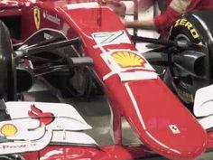 Ferrari SF15-T, la decorazione. Guarda il video!