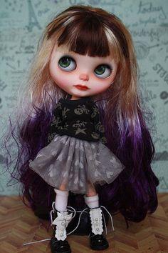 Ryuko Custom Blythe doll https://www.etsy.com/listing/189785140/ryuko-ooak-custom-blythe