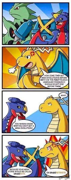 Poor Dragonite   #pokemon #memes #funny #videogames