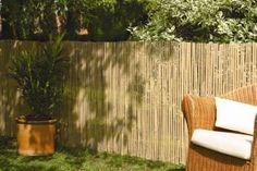 Bambus-Sichtschutz-CALAMA-Gartenzaun-Windschutz-Zaun-Bambusmatte-EXTRA-GEHARTET