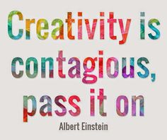 :: Creativity is contagious, pass it on ~~~ ;-) \o/