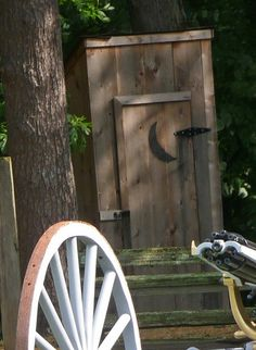 Grant's Farm Outhouse