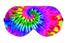 Tye Dye Pattern Patterns Sleep Sleeping Eye Mask Masks Blindfold Eyemask Eyeshade Sleepmask Travel Kit Eyes Shade cover Slumber Slumbers by venderstore on Etsy