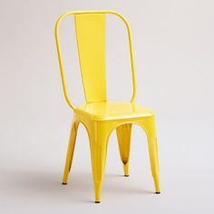 Yellow Cargo Stacking Chair industrial-chairs