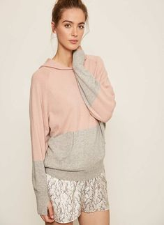 We've filled our Hygge loungewear collection with luxurious satin pyjamas, soft knits and all the cosy accessories you need to make staying in as stylish as going out. Cashmere Hoodie, Satin Pajamas, Athleisure, Loungewear Outfits, Blush And Grey, Teaching Outfits, Hoodies, Sweatshirts, Cashmere