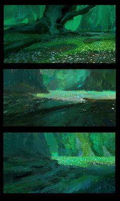 ArtStation - Wind - Ancient Forest of Ligni, Tomas Muir