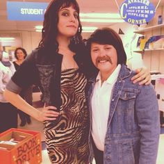 Sonny and Cher. | 50 Couple Costume Ideas To Steal This Halloween