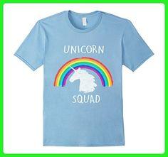 Mens Retro Unicorn Squad Birthdaty T-Shirt Small Baby Blue - Fantasy sci fi shirts (*Amazon Partner-Link)