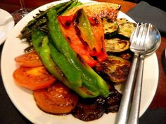 Not only do grilled vegetables complement meats, but stand out as main courses.