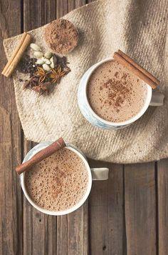 Chai Hot Chocolate \/\/ Tasty Yummies \/\/ Paleo Vegan Date Sweetened