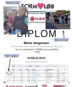 """For 5. gang arrangerer Aarhus Motion """"Hjerteløbet"""" i samarbejde med iFORM. Maria syntes det var en mægtig ide så hun tilmeldte sig naturligvis. Den 25. oktober drog vi afsted til Århus. Parkerede bilen ved Godsbanen. Flere billeder og detaljer klik på billedet."""