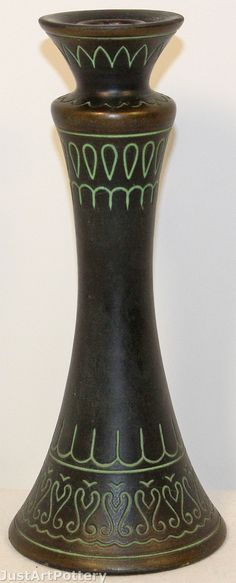 Norse Pottery Candle Holder 67 from Just Art Pottery