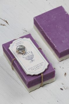 Hand Crafted French Lavender Soap Color Blend Makes a pefect Gift, Creative design has never smelt so good. Melt away stress with rich, soothing lather.