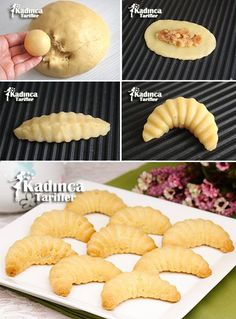 Minced Potato Apple Recipe Recipe, How To . Eid Cake, Pasta Cake, Turkey Cake, Bread Shaping, Sweet Cookies, Food Articles, Easy Cookie Recipes, Turkish Recipes, Mets