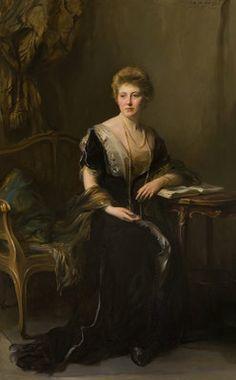Lady Marie Louise Hamilton (d.1957), Daughter of William, 10th Duke of Hamilton by Philip A De Laszlo