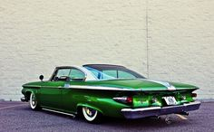1960 Plymouth Fury.