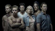 Animal Kingdom - Ellen Barkin, Shawn Hatosy, Scott Speedman, Jake Weary, Ben Robson, and Finn Cole