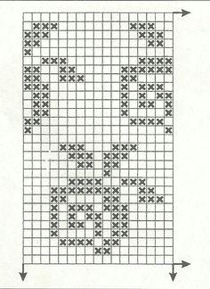 "Фотки Isle Strickmuster Diagramme Kreuzstich Photo from album ""sept 3 on Yandex. Knitting Charts, Knitting Stitches, Knitting Designs, Baby Knitting, Knitting Patterns, Crochet Patterns, Crochet Chart, Filet Crochet, Crochet Motif"