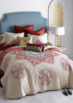 BLISSLIVING HOME Multi Chanda Duvet Set