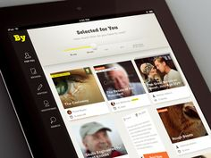 Dribbble - Byliner iPad App by Kreativa Studio