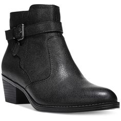 Naturalizer Zakira Booties ($129) ❤ liked on Polyvore featuring shoes, boots, ankle booties, black, naturalizer booties, black ankle booties, black booties, black boots and naturalizer boots