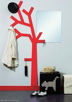 Wieszak w kszta�cie drzewa do przedpokoju