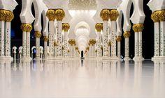 Sheikh Zayed Bin Sultan Al Nahyanmoskén i Abu Dhabi, Förenade arabemiraten. Magnifikt. Foto av John... http://blish.se/5e55cb8b20