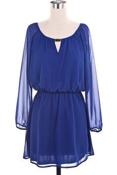 Destin Stars Fall Chiffon Dress    $52.95