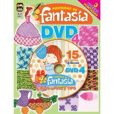 Revista Puntadas de Fantasía DVD 04 - Nuevas puntadas - Formato Impreso