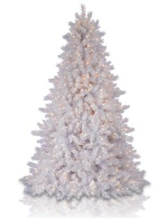 classic white christmas tree at balsam hill ive always wanted a white flocked - White Christmas Tree On Sale