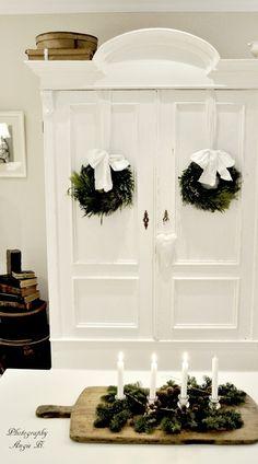Dreaming of a white #Christmas Decor| http://my-christmas-decor-styles.blogspot.com