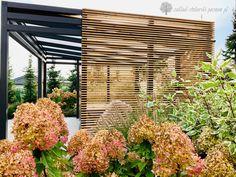 Nowoczesna altana ogrodowa z ażurowymi panelami Malaga, Blinds, Exterior, Outdoor Structures, Curtains, Garden, Home Decor, Projects, Garten