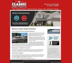ClassicRoofingWindsor.com - Roofing contractor in Windsor, Ontario.