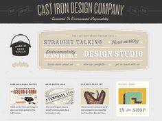 40 Exemplos de Website Estilo Vintage | Criatives | Blog Design, Inspirações, Tutoriais, Web Design