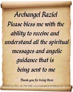 Archangel Raziel <3