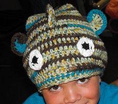 crocheted fish hat dead stinky crochet