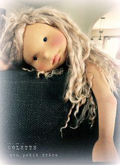 https://flic.kr/p/sNdps3 | Colette- Handmade natural fiber doll by Mon Petit Frère