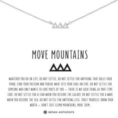 Shop our dainty move mountains necklace. Trust yourself, know your worth - don't just climb mountains, move them. Moving Mountains Quotes, Mountain Quotes, Move Mountains, Moving On Quotes Letting Go, Quotes About Moving On, Trust Yourself, Finding Yourself, Simple Tattoo With Meaning, Moving On Tattoos