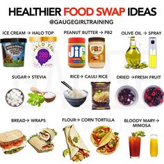 LIKE & BOOKMARK 📚 ✨ ✨ When you are just starting a healthier lifestyle, making a million changes at once can be overwhelming. Healthy Food Swaps, Healthy Recipes, Healthy Eating, Natural Whey Protein, Olive Oil Spray, Food Articles, Homemade Sauce, Proper Nutrition, Loosing Weight