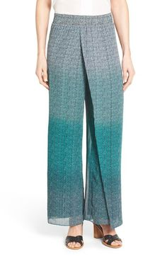 NIC+ZOE Ombré Dot Print Pants available at #Nordstrom